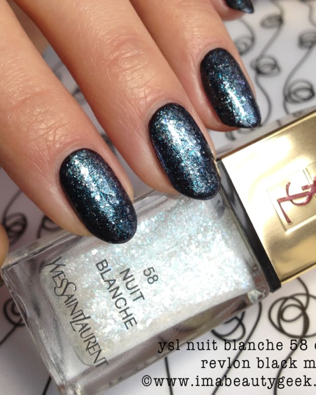 YSL Nuit Blanche Vernis Nail Polish Spring 2015