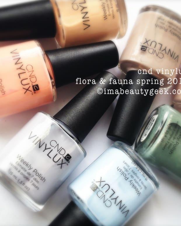 CND Vinylux Flora & Fauna Spring 2015