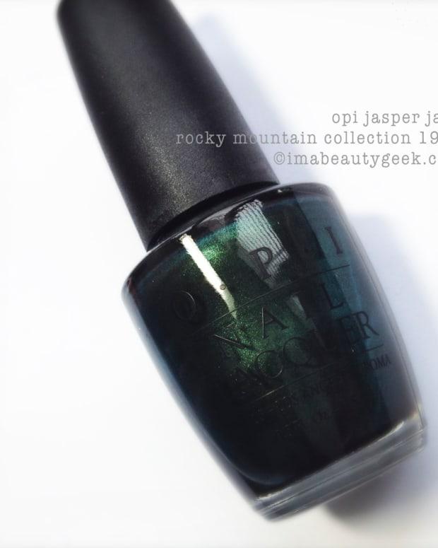 OPI Jasper Jade Rocky Mountain 1996