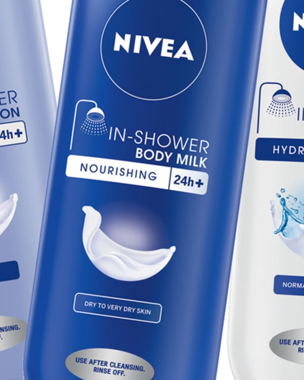 Nivea In-Shower Body Lotion, In-Shower Body Milk, In-Shower Body Lotion