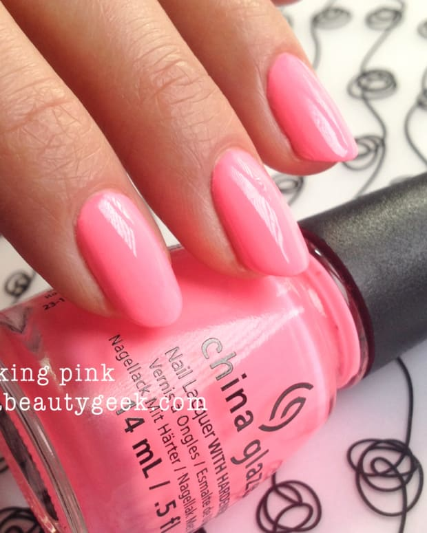 China Glaze Neon Header