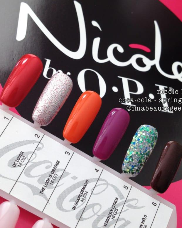 Nicole by OPI Coca-Cola 2015