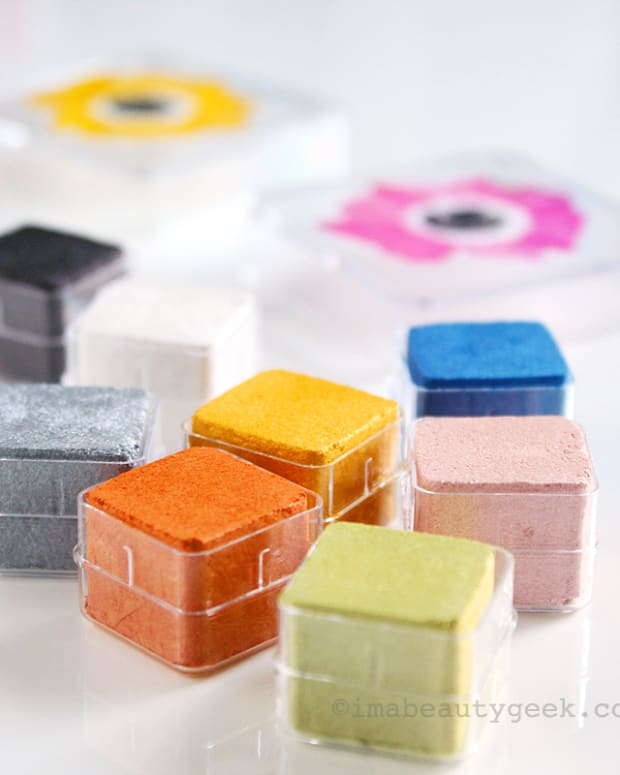The Body Shop Spring 2015 Shimmer Cubes are all optimistic colour