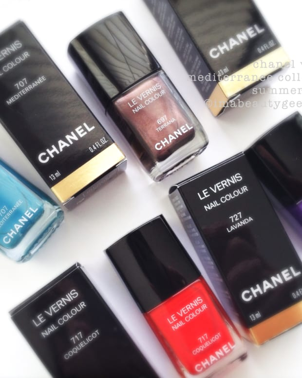 Chanel Mediterranee Collection Summer 2015 Le Vernis