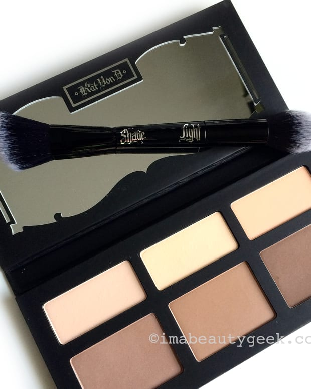How to Contour for Any Lighting_Kat Von D Shade + Light Contour Palette and Brush