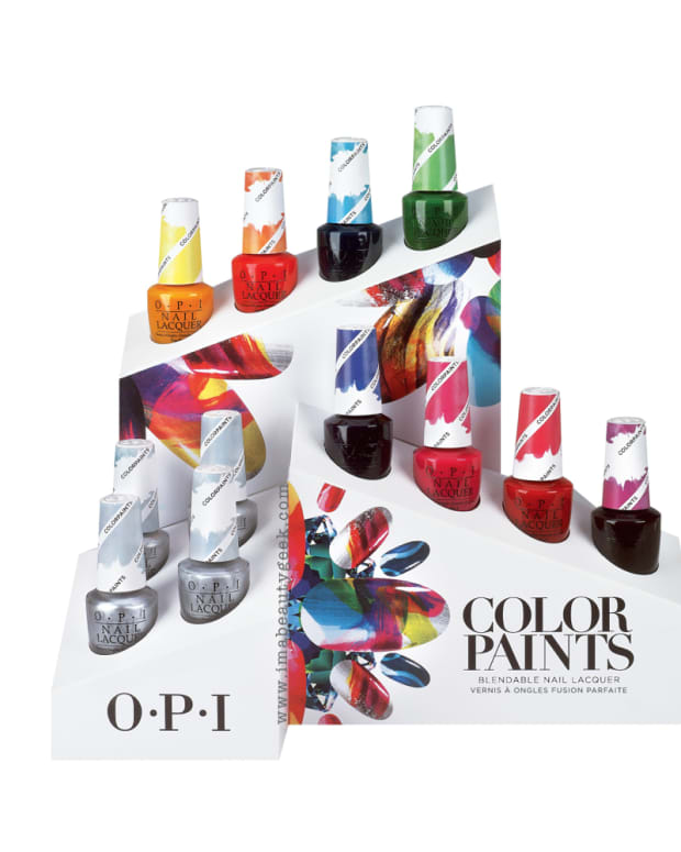 OPI ColorPaints Beautygeeks Header
