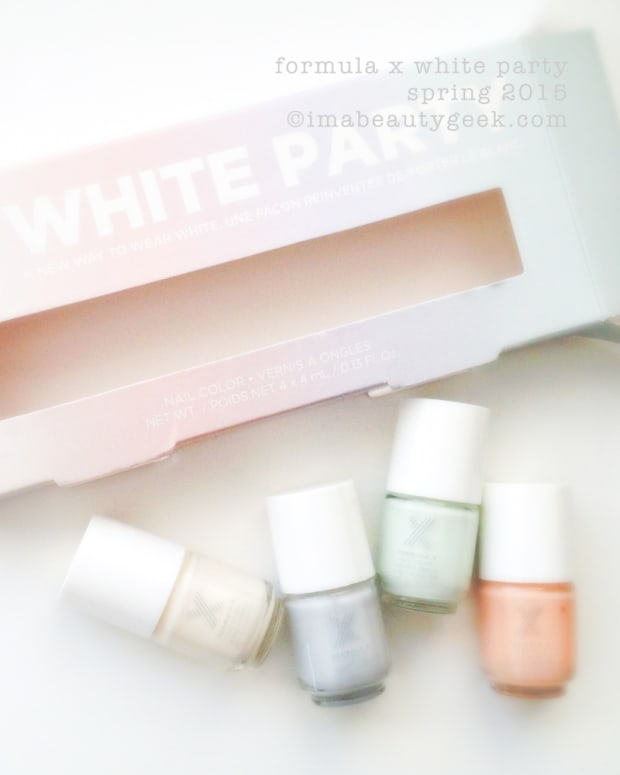Formula X White Party Beautygeeks H