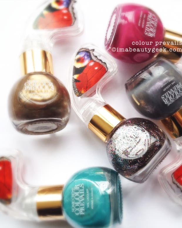 Colour Prevails Nail Polish Swatches and Review Beautygeeks