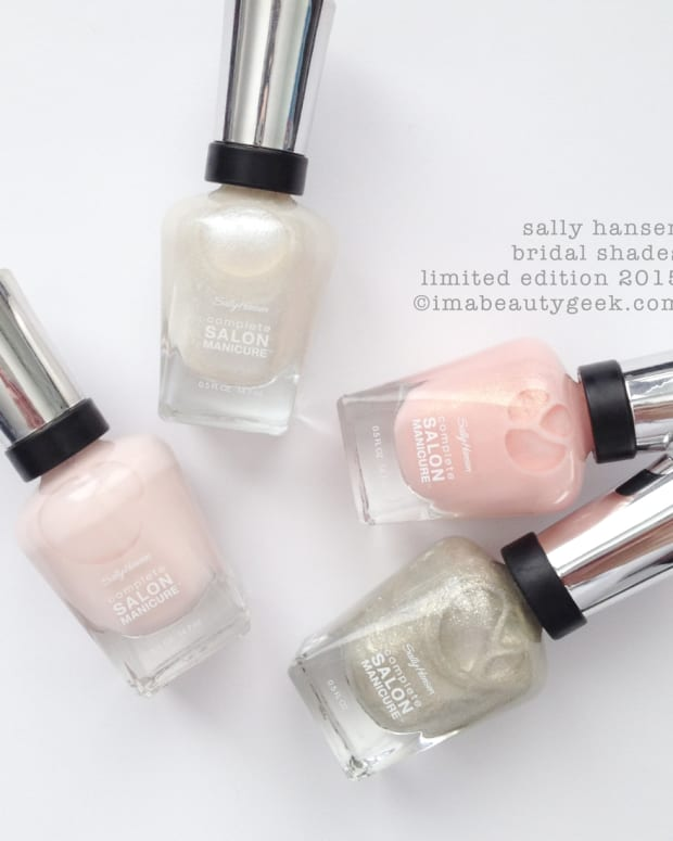 Sally Hansen Bridal Shades Spring 2015
