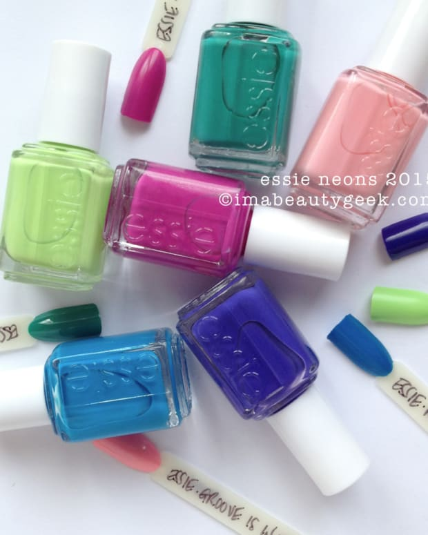Essie Neon 2015 Collection Manigeek Swatches