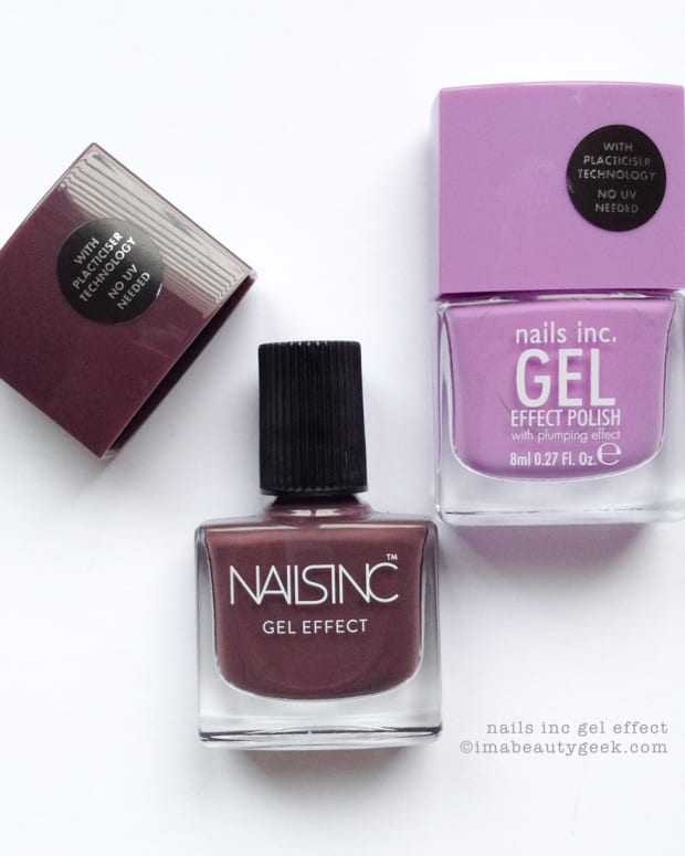 Nails Inc Lexington Gardens & Nails Inc New Oxford Street Swatches