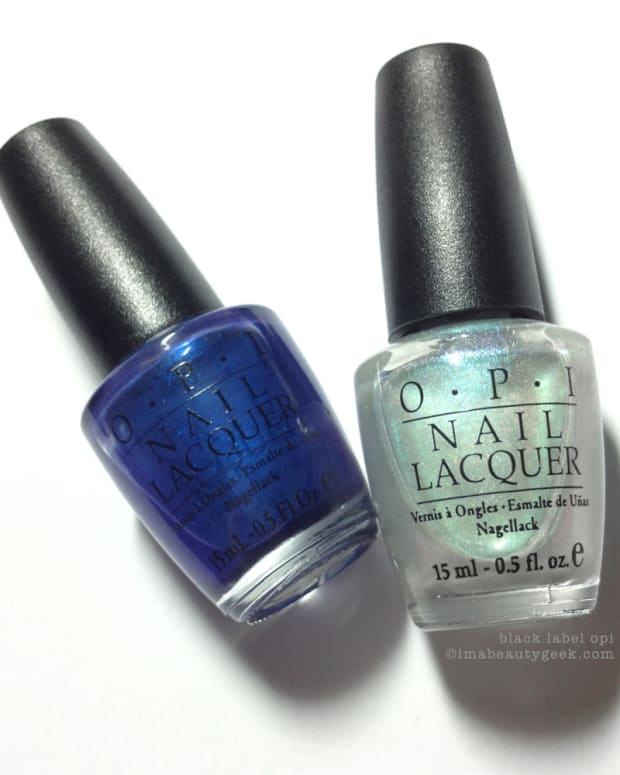 Black Label OPI BLOPI Blue My Mind and What's Dune Beautygeeks