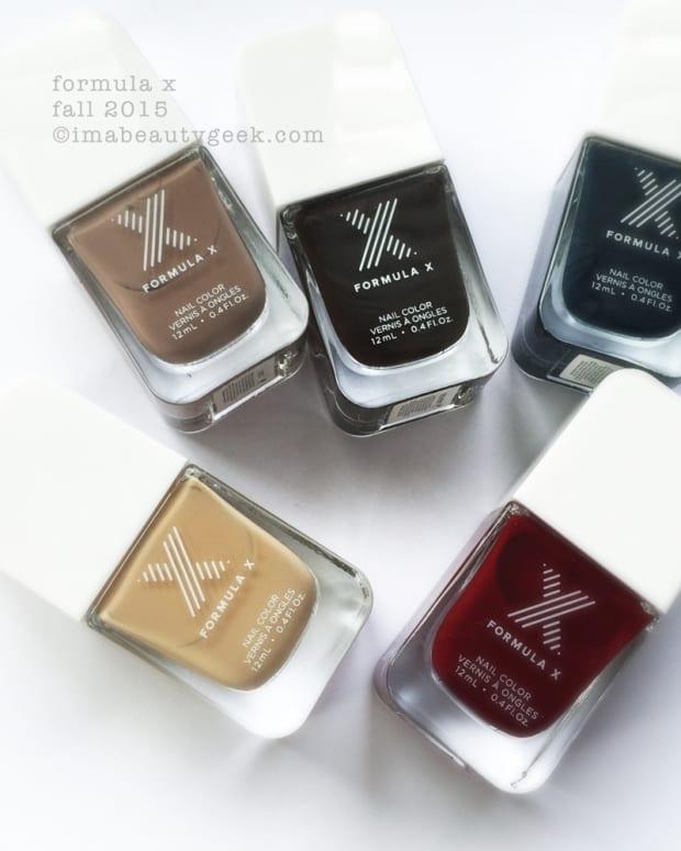 Formula X Nail Polish Fall 2015 Sephora