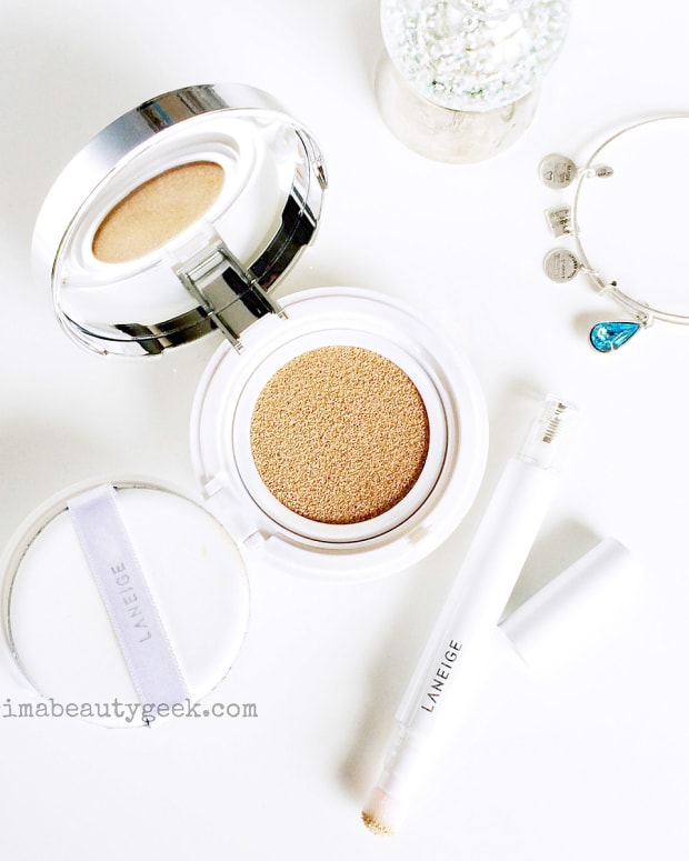 Laneige BB Cushion Compact and Laneige Cushion Concealer
