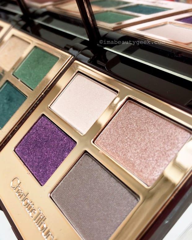 Charlotte Tilbury eyeshadow palettes