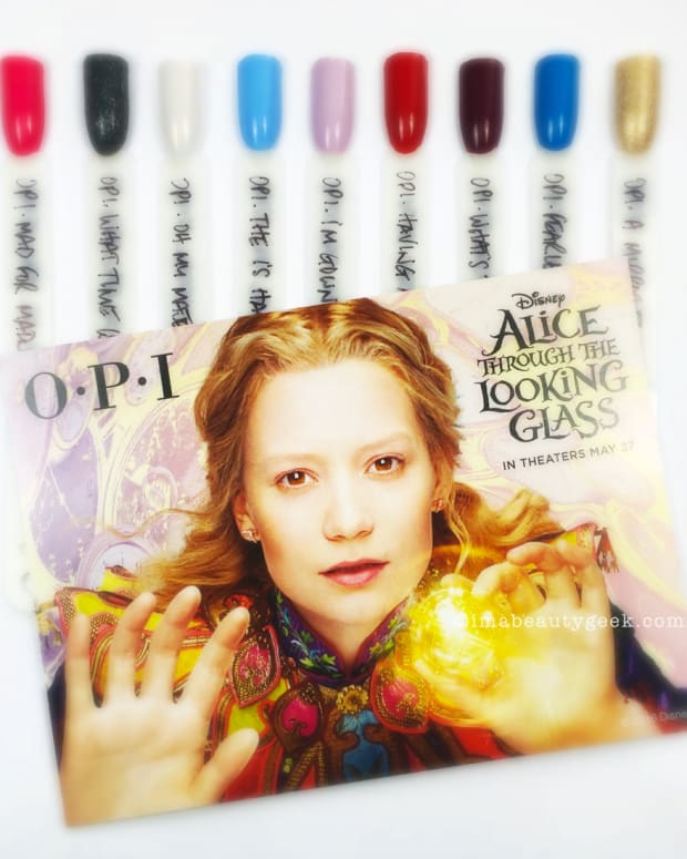 OPI Alice Through the Looking Glass Complete Manigeek Guide
