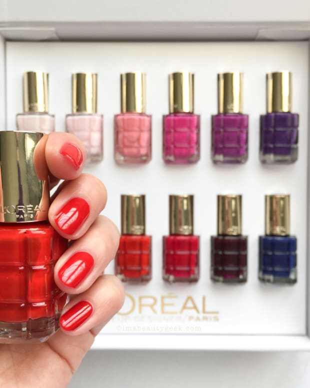 LOreal Vernis a LHuile Swatches and Review
