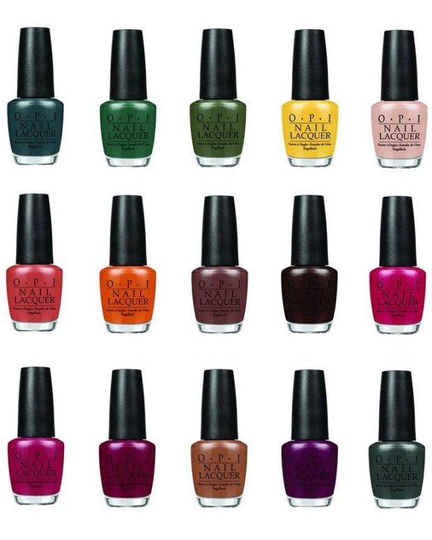OPI Washington DC 2016 Kerry Washington Swatches