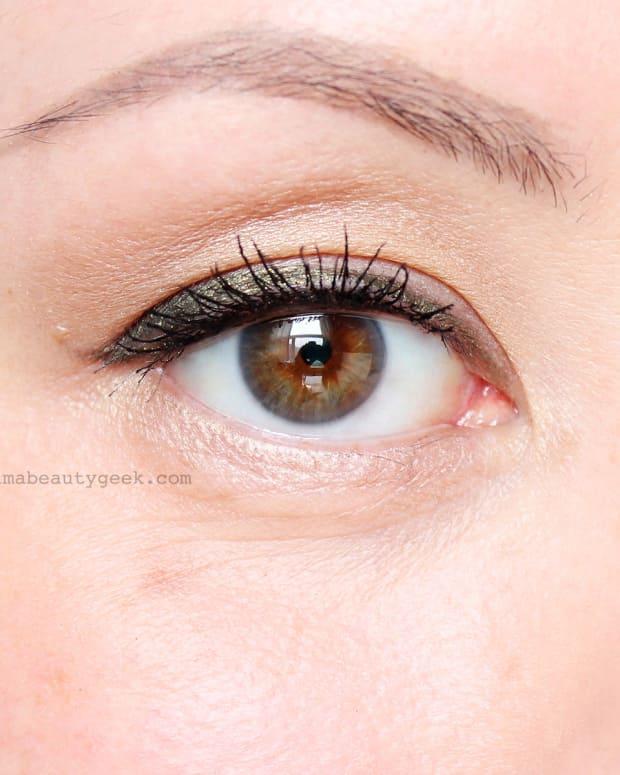Tightlining + lining in Stila Smudge-Stick Waterproof Eye Liner in Moray