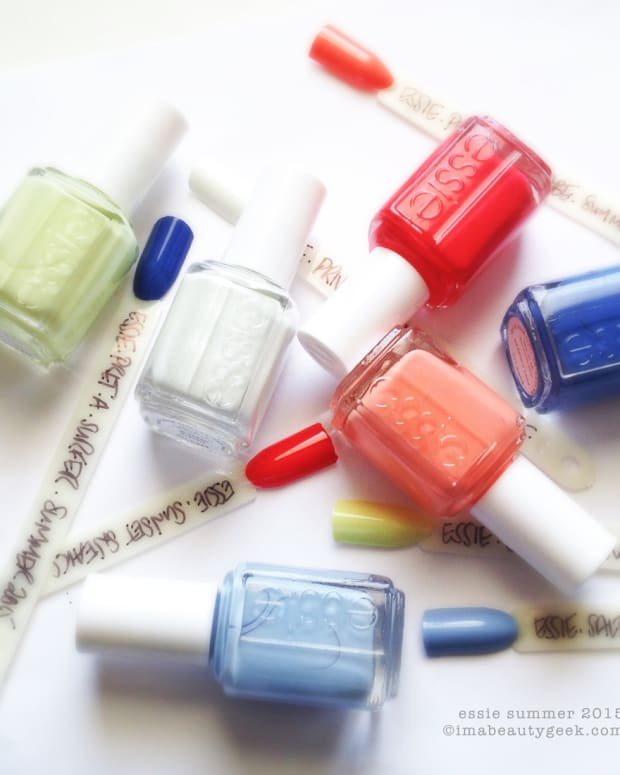 Essie Summer 2015 Swatches & Review Beautygeeks