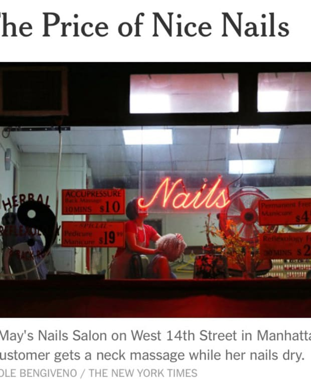 NYC nail salon expose_cheap manis cost more than you think