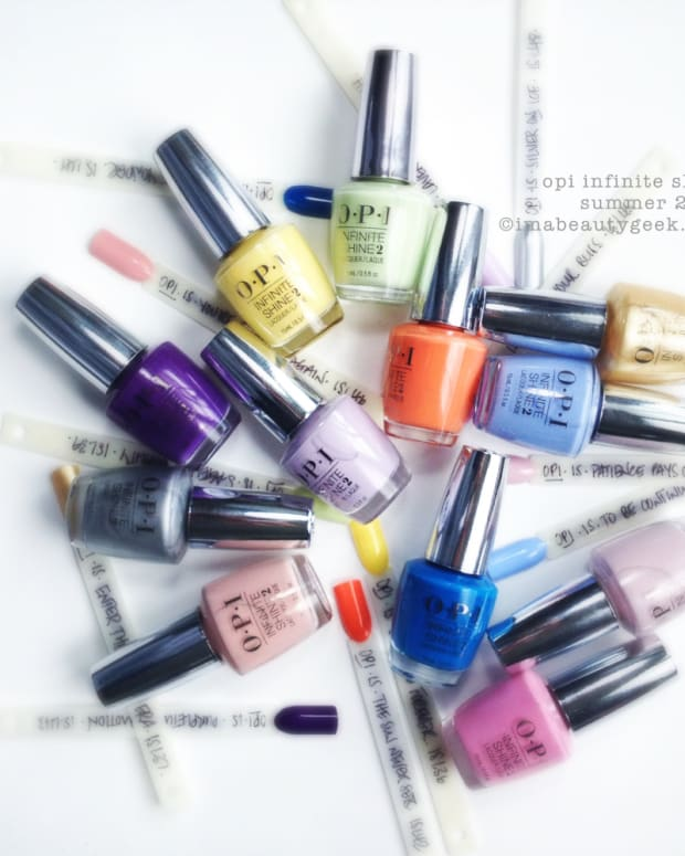 OPI Infinite Shine Swatches and Review Summer 2015 Header