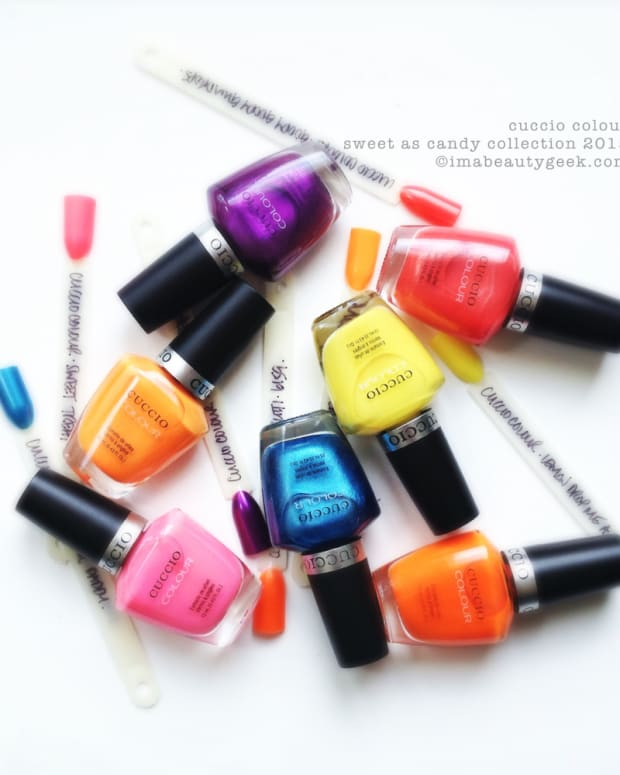 Cuccio Colour Sweet as Candy 2015 Nail Polish Collection
