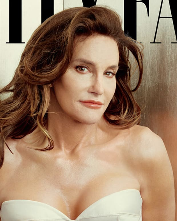 Caitlyn Jenner reveals herself with Vanity Fair; was formerly Bruce Jenner
