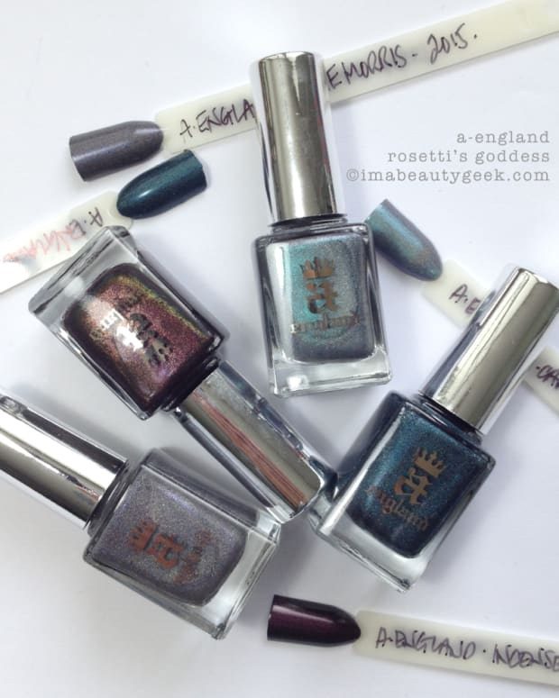 A-England Rosetti's Goddess Collection 2015 Beautygeeks