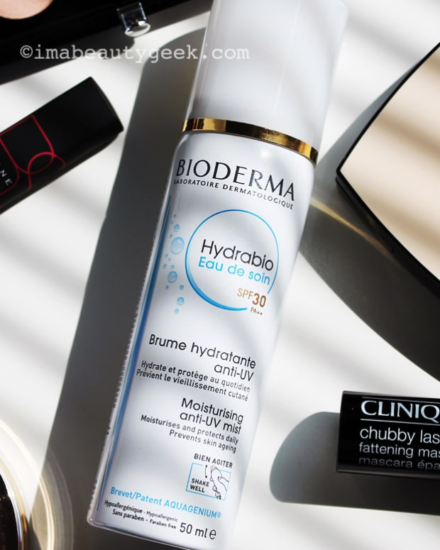 Bioderma Hydrabio SPF 30 Water sunscreen