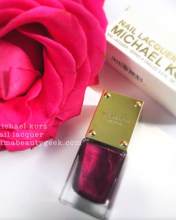 Michael Kors Nail Polish Swatches Beautygeeks Header