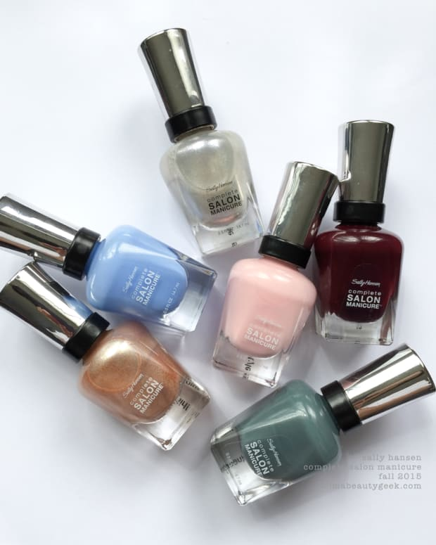 Sally Hansen Complete Salon Manicure Fall 2015 Swatches Review