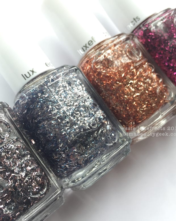 Essie Luxeffects 2015 Swatches Review