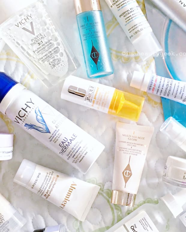 travel-size skincare to take in your carry-on luggage
