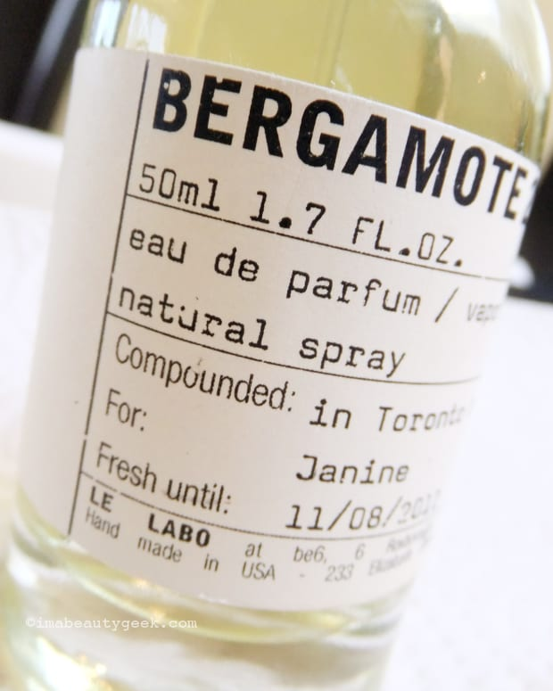 Le Labo Bergamote 22_6 by Gee Beauty