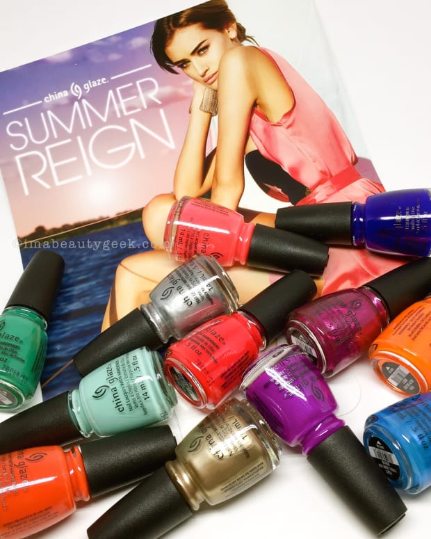 China Glaze Summer Reign Collection Swatches and Review 2017