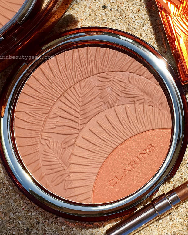 Clarins summer 2017 makeup_Bronzing & Blush Compact_open