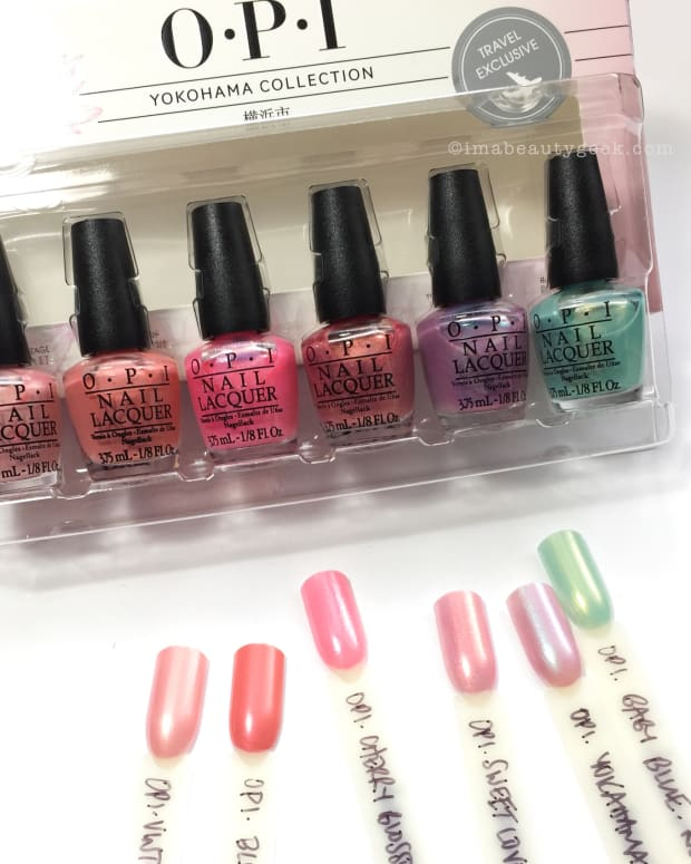 OPI Yokohama Collection 2001 Mini Set Swatches Review