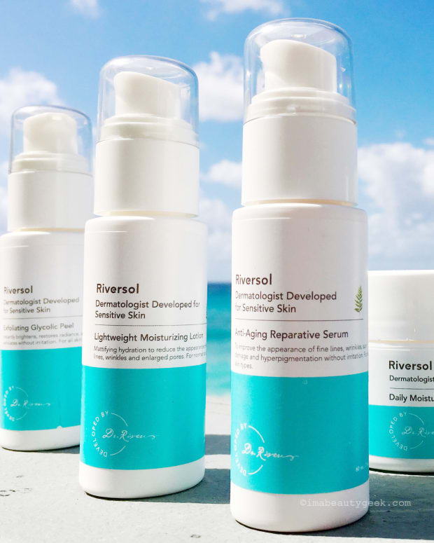 Riversol Skincare for Sensitive Skin: how to get a free 15-day kit
