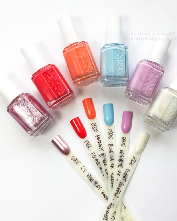 Essie Summer 2017 Collection Swatches Review S'il Vous Play