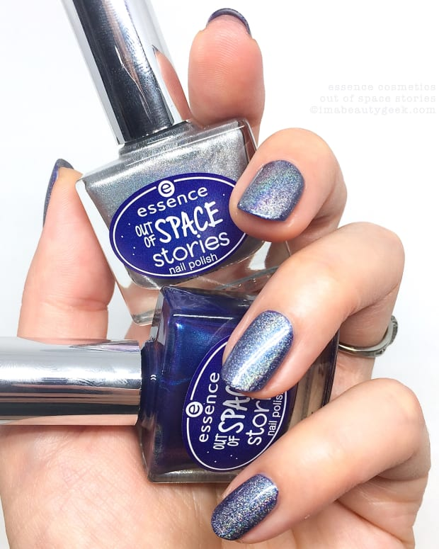 Essence Out of Space Stories Nail Polish Swatches Review