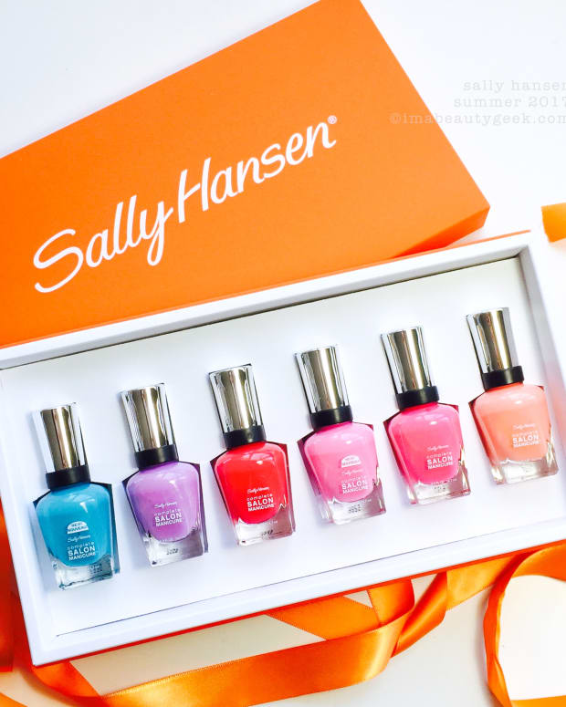Sally Hansen Summer 2017 Complete Salon Manicure Swatches