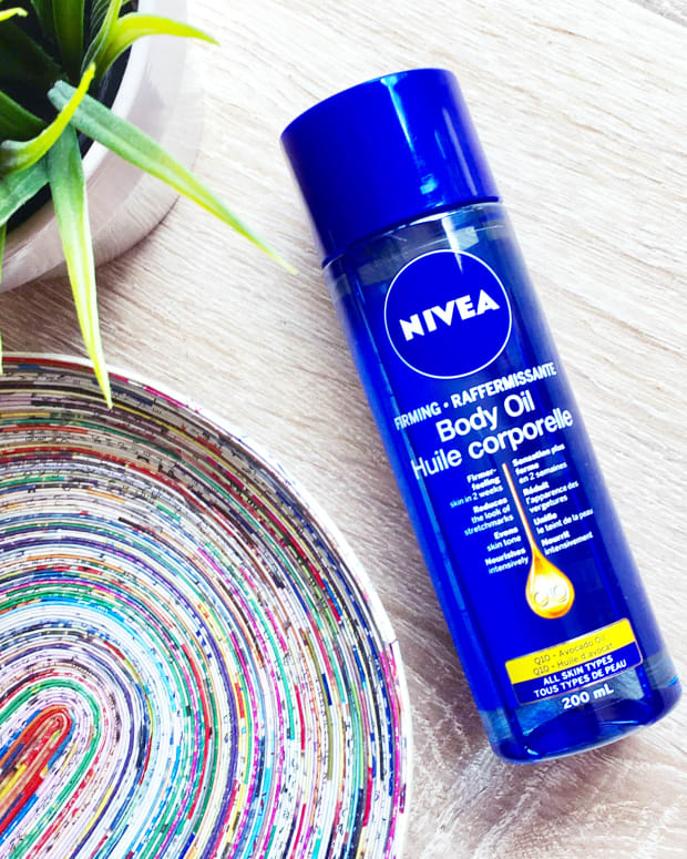 Nivea Q10 Firming Body Oil 2017 review
