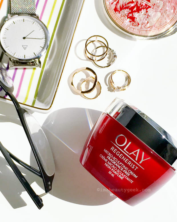 Olay Regenerist Micro-Sculpting Cream-geeky Good Housekeeping Institute study details