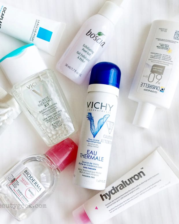 Travel-size beauty products LOVE