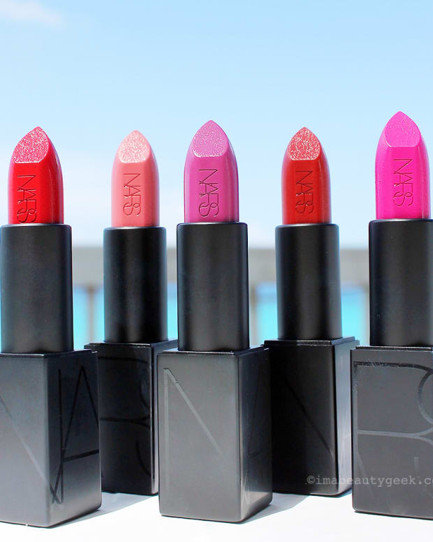 NARS Audacious Lipstick collection Fall 2016