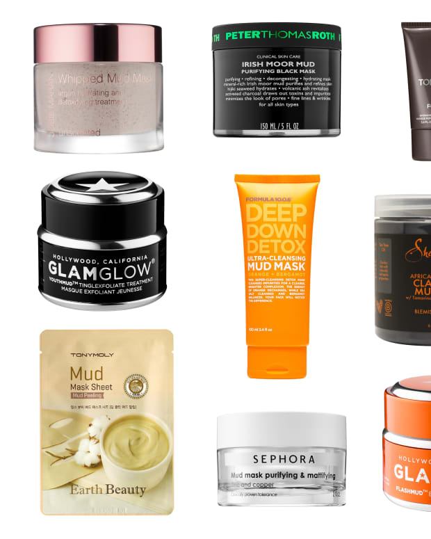 Mud masks that are really clay
