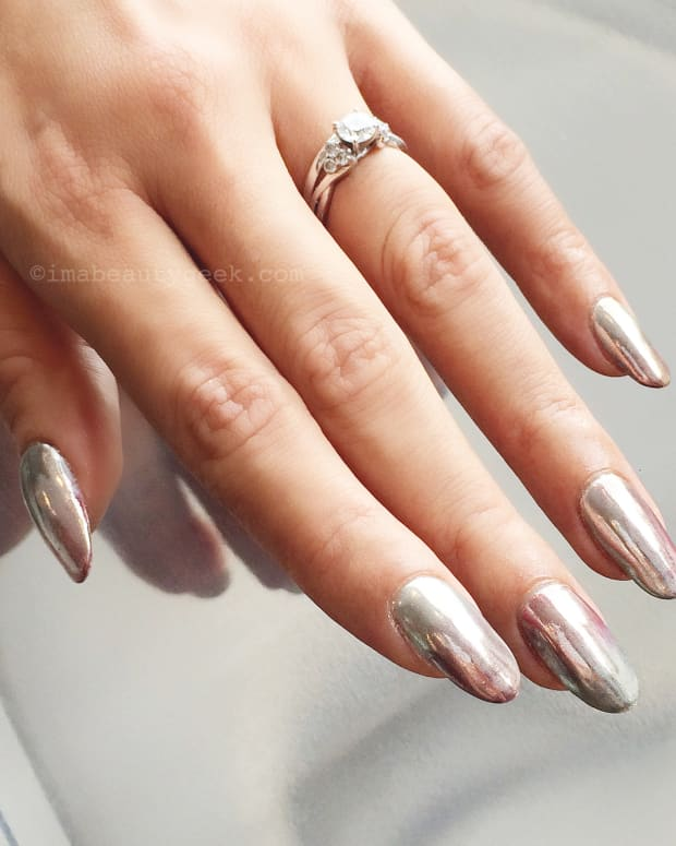 ombre chrome mani_tips nail bar_nargis khan