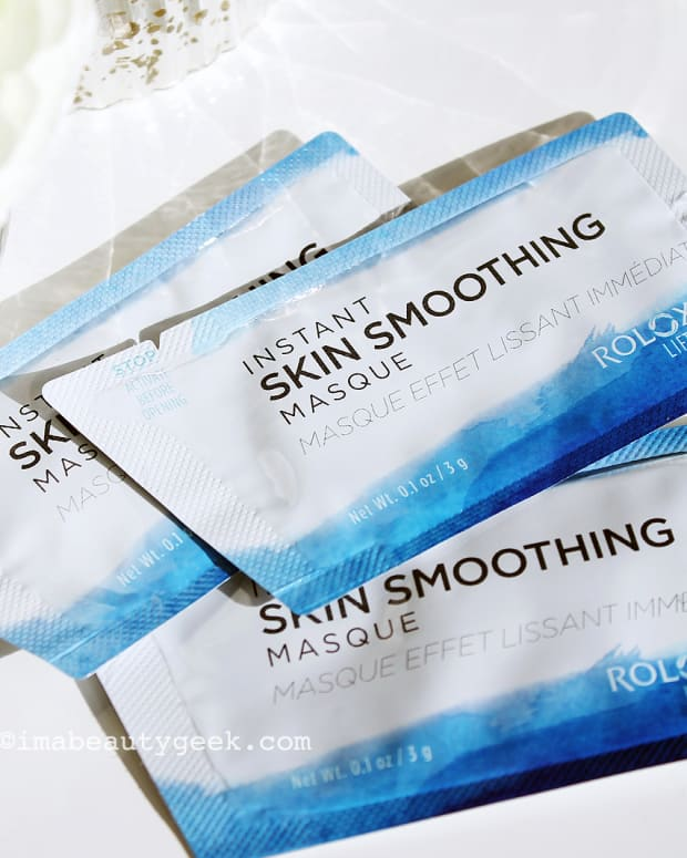 Roloxin Lift Instant Wrinkle Smoothing Masque sachets