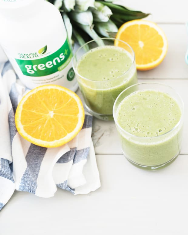 greens+ beach smoothie